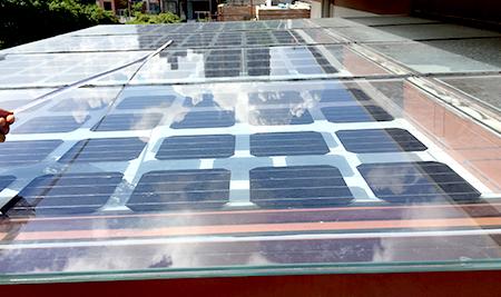 阳光房太阳能板案例