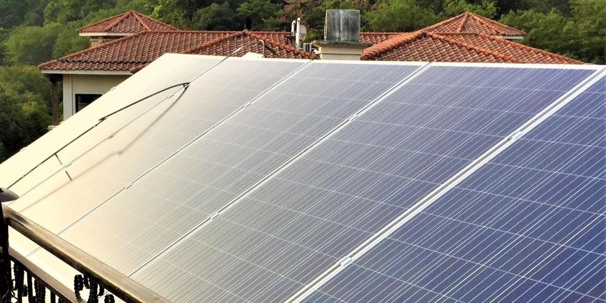 深圳市圣莫丽斯屋顶太阳能发电系统