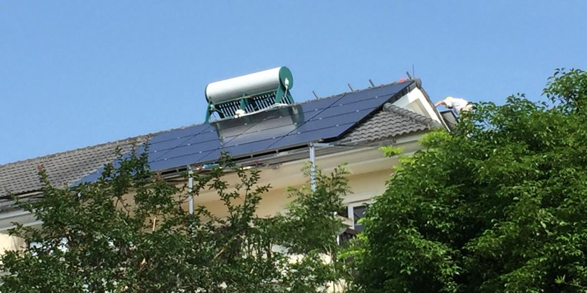 广州从化15KW屋顶光伏发电系统项目【大家有】