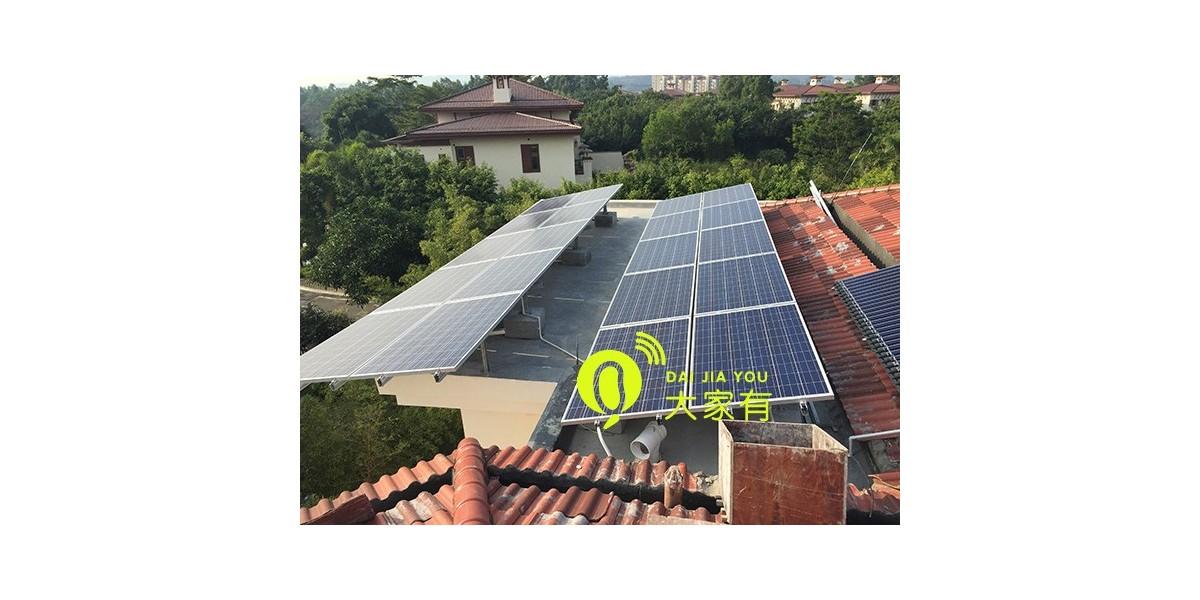 深圳影响太阳能家庭发电系统效率的因素「大家有」