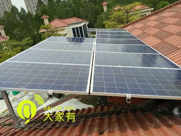 光伏分布式屋顶发电