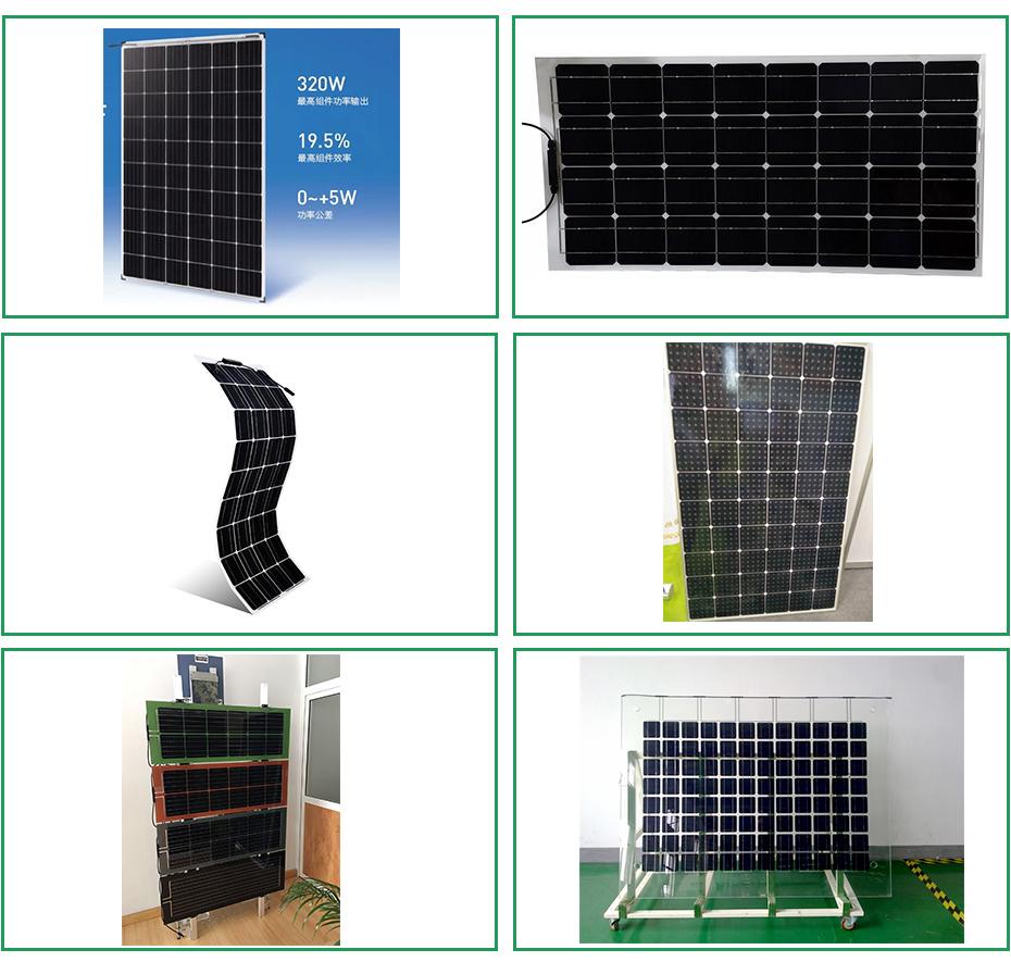 太阳能板展示