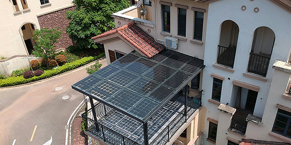 阳光房发电系统安装