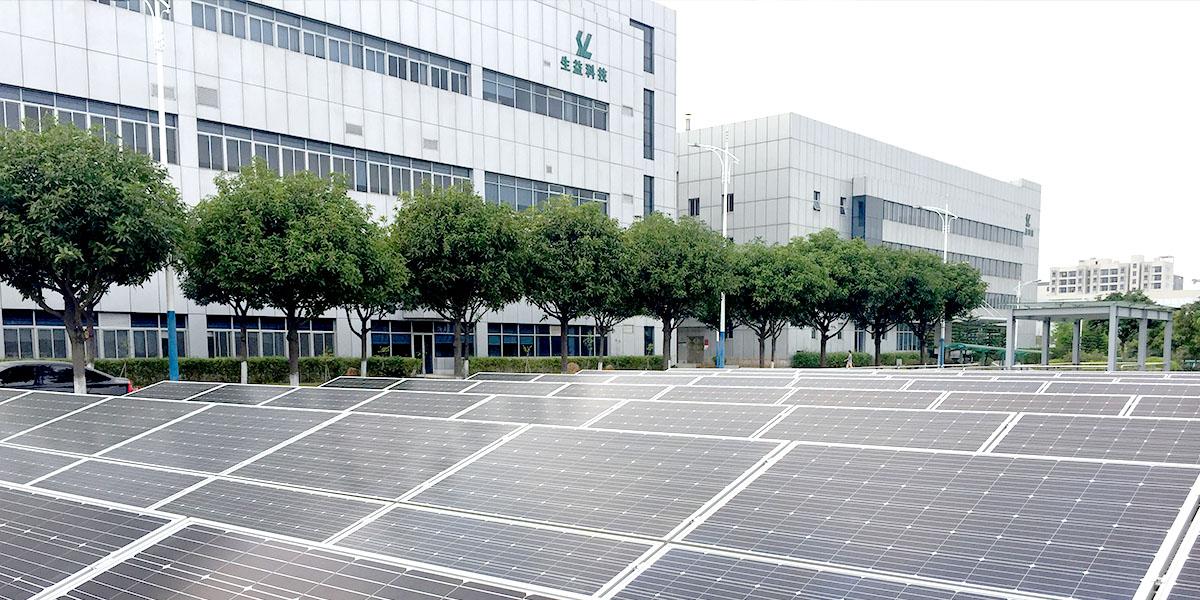 东莞生益科技屋顶太阳能光伏发电系统工程案例